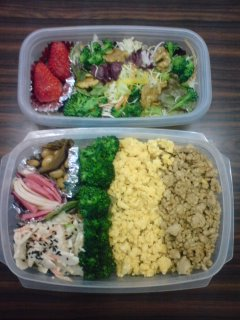Today's Lunch Box/ Bento ('9/8)