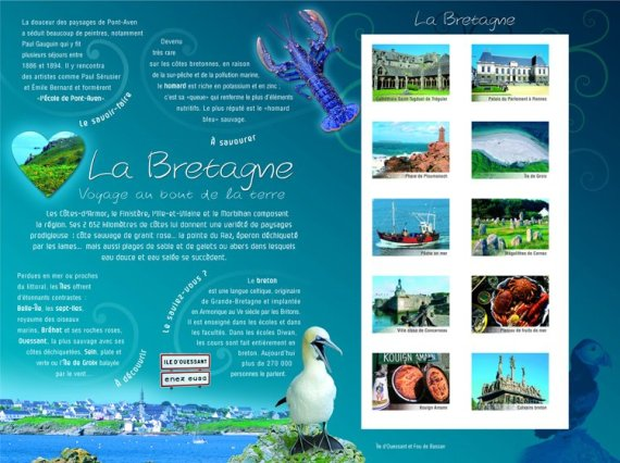 French Gastronomy on Stamps (7): Bretagne