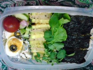 Today's Lunch Box/Bento ('09/33)
