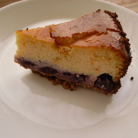 Japanese Cheese Cake (4): Baked Blueberry Cheese Cake