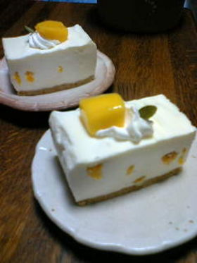 Japanese Mango and Rare Cheese Cake