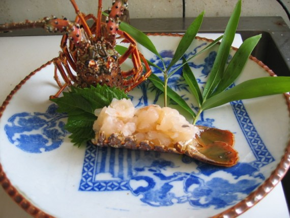 Spiny Lobster: Basic Sashimi Presentation