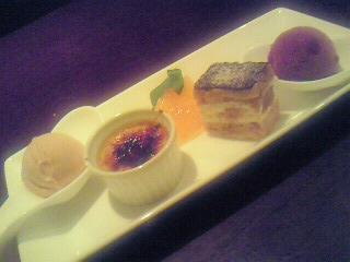French Dessert Combination at Gentil ('09/09/25)