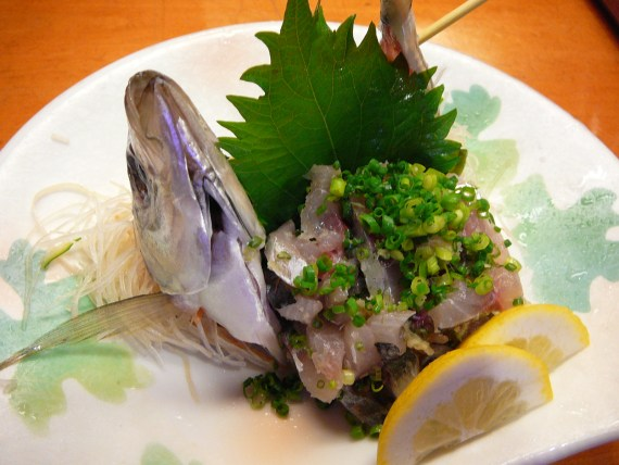 Sushi & Sashimi: Eat Local Fish, Seafood, Meat and Vegetables!