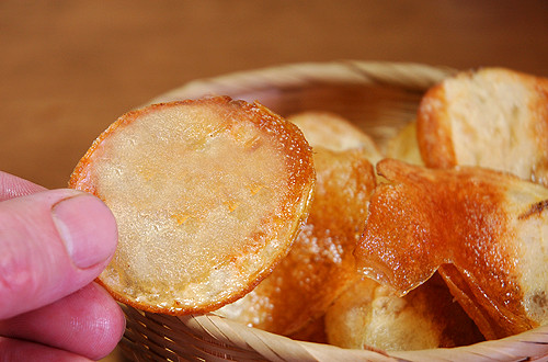 Potato Gastronomy: The Real Potato Chips!