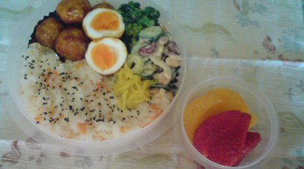 Today's Lunch Box/Bento ('10/08)