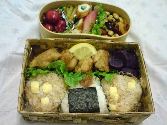 Today's Lunch Box/Bento ('10/33): Growing Bento Boom