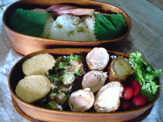 Today's Lunch Box/Bento ('10/40)