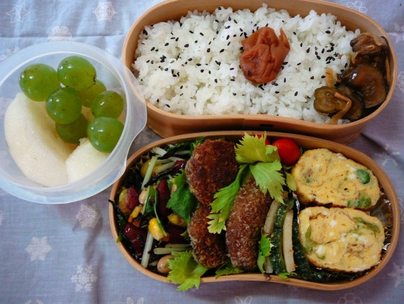 Today's Lunch Box/Bento ('10/66): Back To work Bento