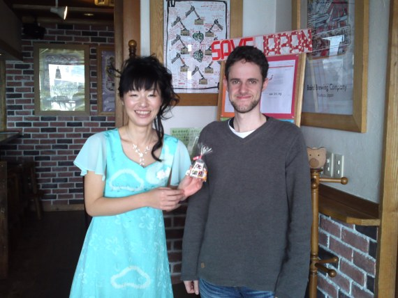 Japan Earthquake and Tsunami (March 2011): Food collected by Mark & Kunie Thornton on its way to Miyagi Prefecture!