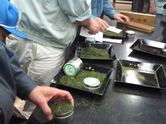 Green Tea: Shizuoka First Auctions in 2011