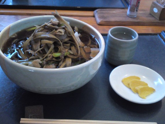 Soba Restaurant along the Ten-Hama Railway Line: Hazuki!