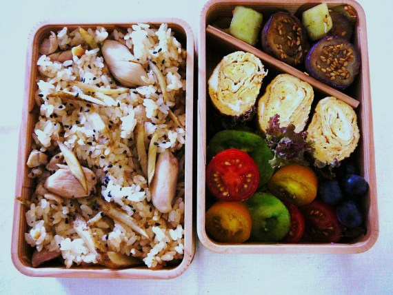Today's Lunch Box/Bento ('11/43): Another Earthquake Bento