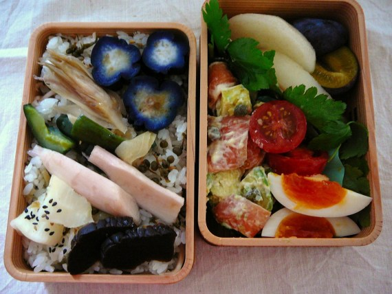 "Today's Bento/Lunch Box (11/48): ""What a pickle!"" Bento!"