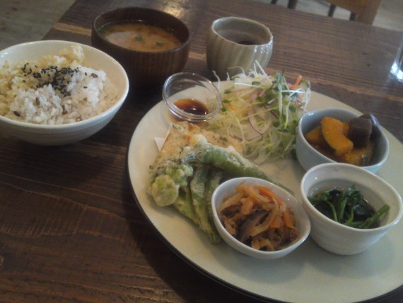 Healthy Vegetarian Lunches: Locomani in Shizuoka City (Late summer 2011)