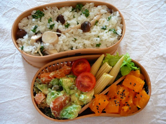 Today's Bento/Lunch Box (11/53): Pre-Halloween Bento?