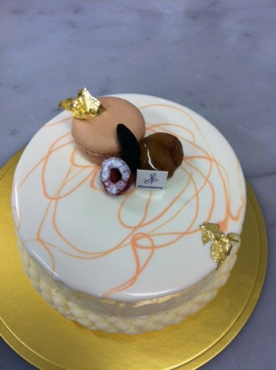 "French Pastry: ""Splendeur by Bernard Heberle at Abondance Patisserie in Hamamatsu City!"