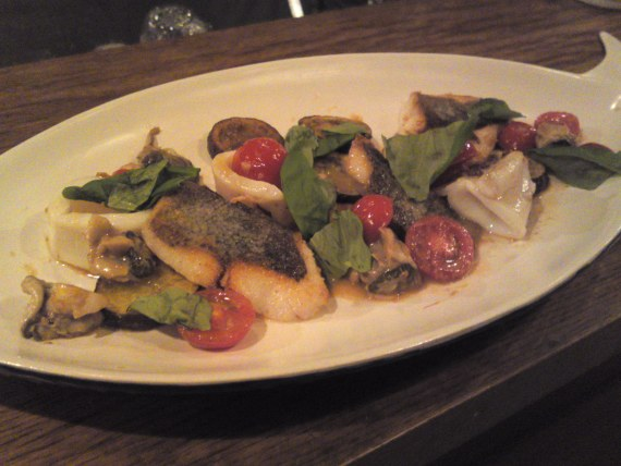 Italian Cuisine with Shizuoka Ingredients at Aquavite (Fall~Winter 2011)