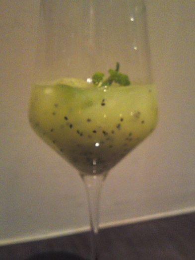 Fruit Cocktails by Wataru Matsumoto at Botanical (1): Kiwi Fruit!