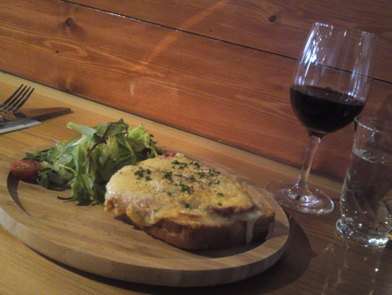 Bistro Gastronomy: Croque-Monsieur at Café Brasserie Patina in Shizuoka City!