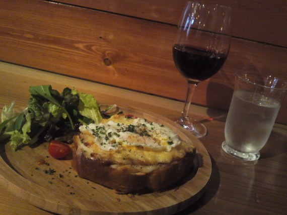 Bistro Gastronomy: Croque-Madame at Café Brasserie Patina in Shizuoka City!