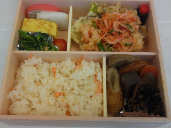 Bento designed by Gentil Restaurant, Shizuoka, at the 2nd Mt. Fuji Network Forum!