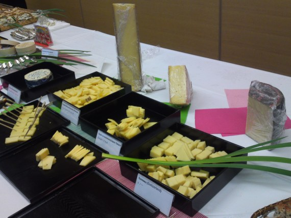 Cheese, Wine and Sake Feast at the 2nd Mt. Fuji Network Forum in Shizuoka City!