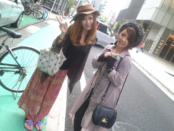 Japanese Ladies Fashion in Shizuoka 13: back to the 60's?