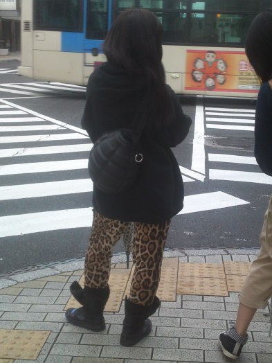 Japanese Ladies Fashion in Shizuoka 9: Hand Grenade Rucksack!