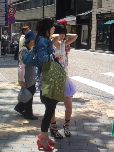 Japanese Ladies Fashion in Shizuoka 14: Mother and Daughter!