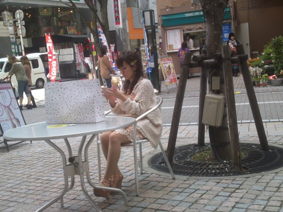 Japanese Ladies Fashion in Shizuoka 7: Sweet Tooth Fashionista!