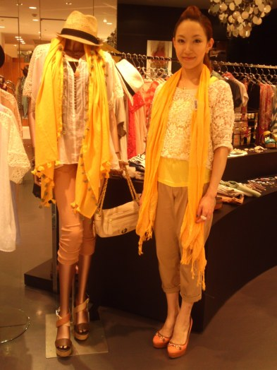 Japanese Ladies Fashion in Shizuoka 25: Miwako Chan at Smacky Glam in Parco Department Store!