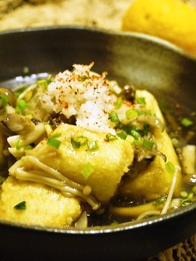 Vegan Japanese Gastronomy: Sweet and Sour Fried Tofu and Mushrooms