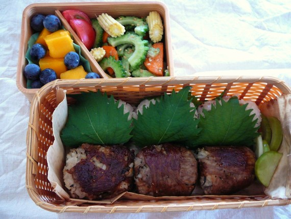 Today's Bento/Lunch Box (12/31): Wagyu Beef Bento!