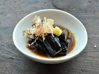 Vegan Japanese Recipe: Eggplants Agedashi