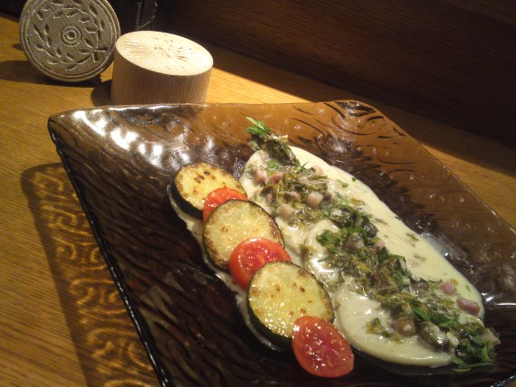 Italian Restaurant: Autumn Lunch (2012) at Aquavite in Shizuoka City!