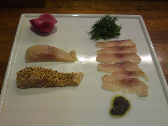Gastronomic Study Group: Kakishima Rainbow Trout and Japanese Char by Wasabi no Kai Group
