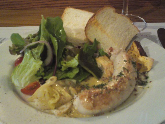 French Bistro Gastronomy: Boudin Blanc at Patina in Shizuoka City!