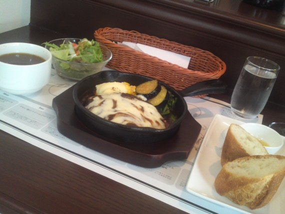 "French BBQ: Japanese ""Nikomi"" Hamburger Lunch at Brochette Restaurant in Shizuoka City!"