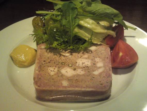 French Bistro Gastronomy: Terrines at Caravin in Shizuoka City!