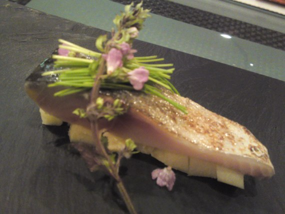 French Gastronomy: Mackerel Appetizer at Pissenlit in Shizuoka City!
