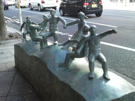 Street Statues in Numazu City