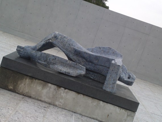 """Dismembered Man"" by Bruno Maroni in Mishima City!"