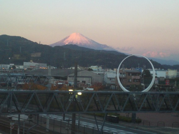 Mount Fuji: Urban Sights from Shimizu JR Station!