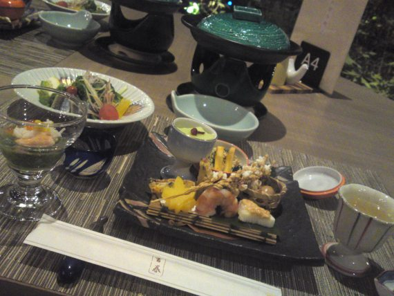 Hot Springs Spa Resorts in Shizuoka Prefecture: Yoshiharu Hotel in Izu Peninsula! 2: Dinner