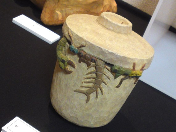 "Gastronomic Art and Humor: ""Chawan Mushi (""Mushi""=""Steamed"" or ""Insect""!) at Art Gallery Pumpkin 2 in Yaizu City!"