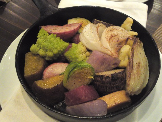 Italian Gastronomy: Local Seasonal vegetables Skillet at Soloio in Shizuoka City!