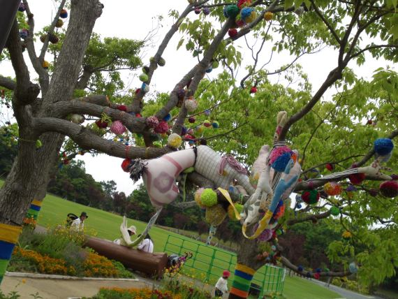 Objets d'Art/Art Objects at Hamana Lake Flower Garden!