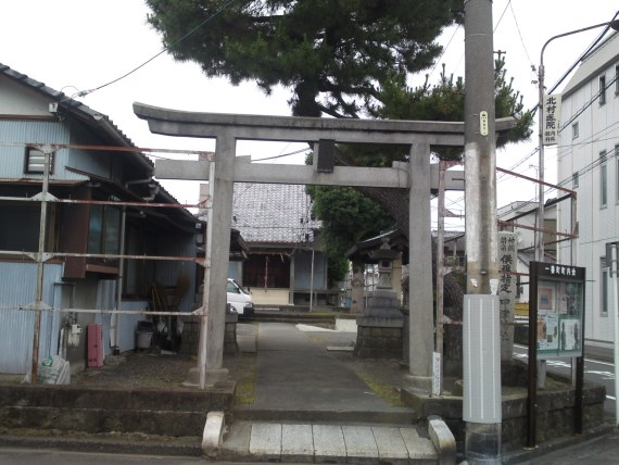 Sumiyoshi Shinto Shrine (住吉神社) in Shizuoka City!
