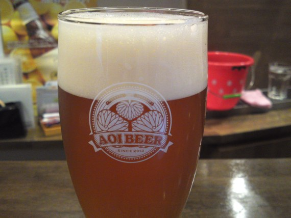 Shizuoka Beer Tasting: Aoi Brewing-Pale Ale (2nd batch)
